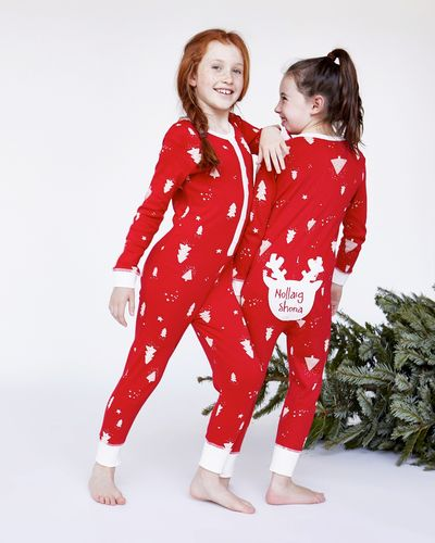 Leigh Tucker Willow Nollaig Shona Pure Cotton Family Onesie