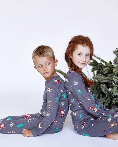 Leigh Tucker Willow Santa's On His Way Pure Cotton Pyjamas
