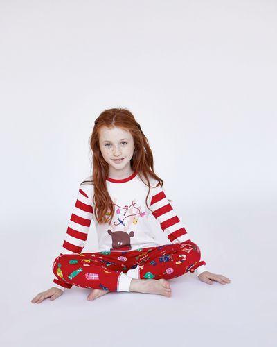 Leigh Tucker Willow Sleigh Bells Ivy Pure Cotton Pyjamas