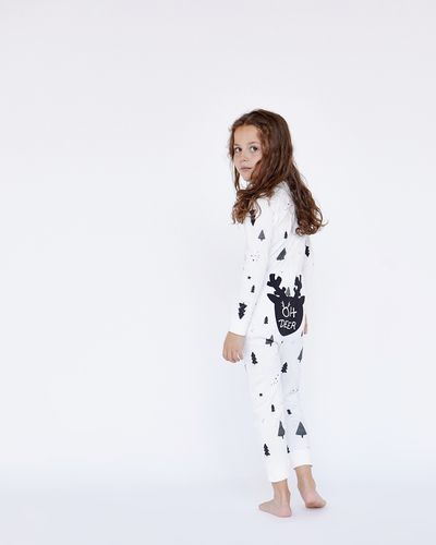 Leigh Tucker Willow Oh Dear Snow Pure Cotton Onesie