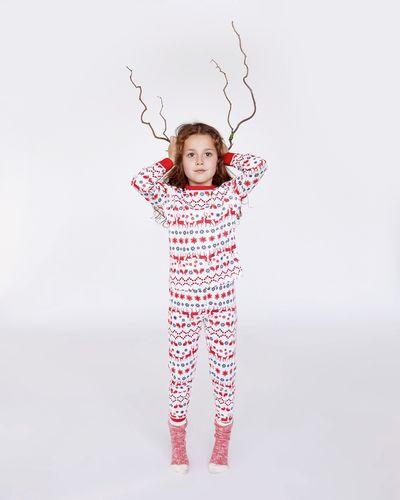 Leigh Tucker Holly Jolly Kids Pure Cotton Family Pyjamas
