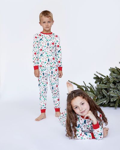 Leigh Tucker Winter Wonderland Pure Cotton Pyjamas