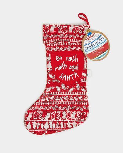 Leigh Tucker Willow Printed Christmas Stocking