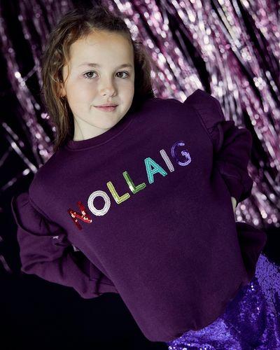 Leigh Tucker Nollaig Girls Sweater (2-14 years)