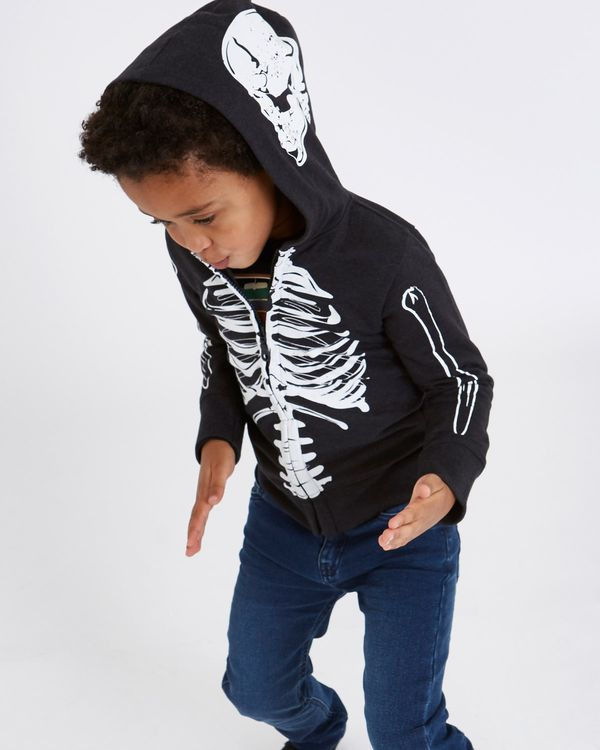 Leigh Tucker Willow Wesley Glow-In-The-Dark Skeleton Hoodie