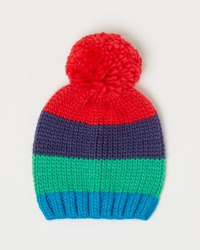 Leigh Tucker Willow Brady Multi Stripe Hat