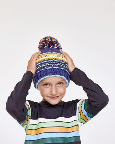 Leigh Tucker Bane Yarn Interest Hat