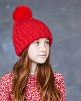 red Leigh Tucker Willow Maddy Hat