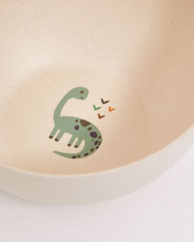 Leigh Tucker Willow Dinosaur Bamboo Bowl