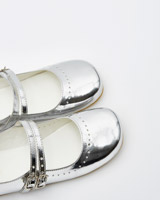 silver Leigh Tucker Willow Finley Double Strap Shoes