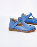 blue Leigh Tucker Willow Frankie Leather Shoes