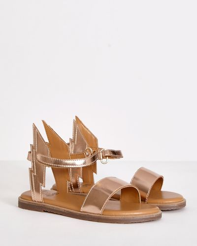 Leigh Tucker Willow Hannah Winged Sandals