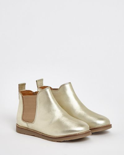 Adelia Gold Boot