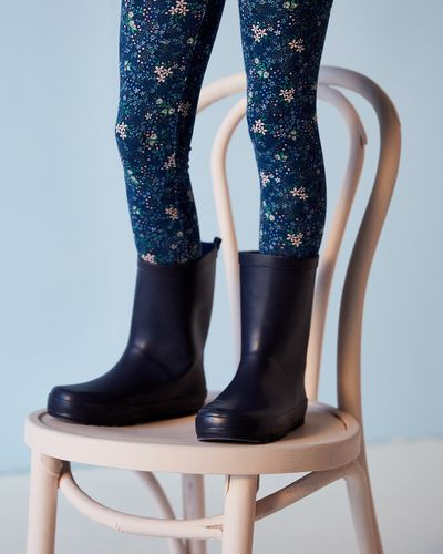 Leigh Tucker Willow Blue Unisex Wellie (Size 7-3)