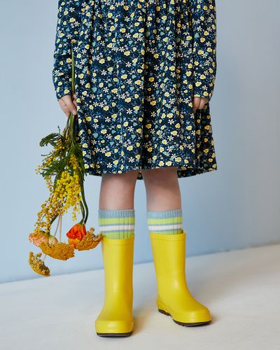 Leigh Tucker Willow Yellow Wellies