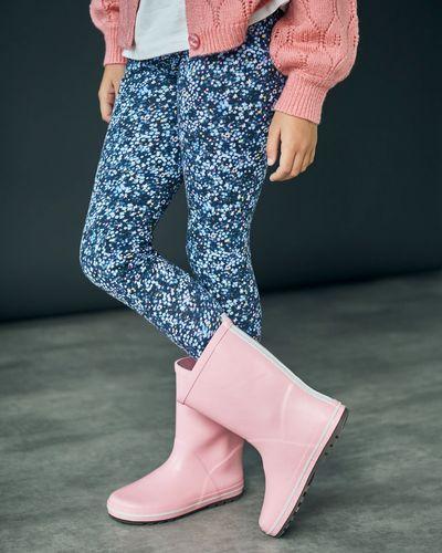 Leigh Tucker Pink Wellie (Size 7-3)