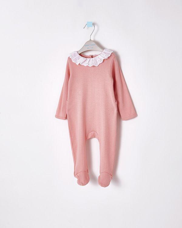 Leigh Tucker Willow Olwyn Woven Collar Sleepsuit