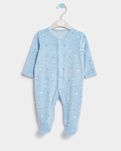 Leigh Tucker Willow Jessie Velour Sleepsuit (Newborn - 23 months)