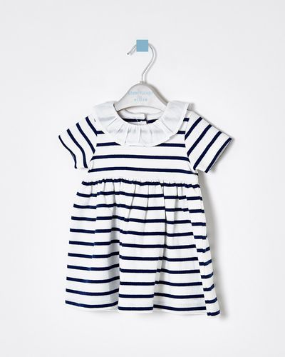Leigh Tucker Olga Basic Stripe Dress