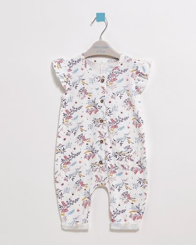 Leigh Tucker Willow Scarlet Baby Romper