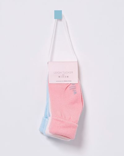 Leigh Tucker Willow Winnie Baby Girls Sock - Pack Of 3