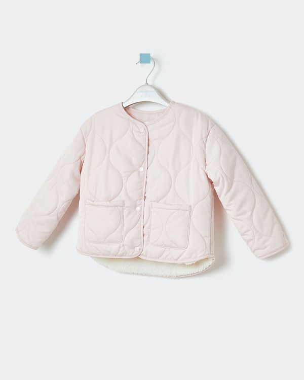 Leigh Tucker Willow Grace Baby Fleece-Lined Jacket