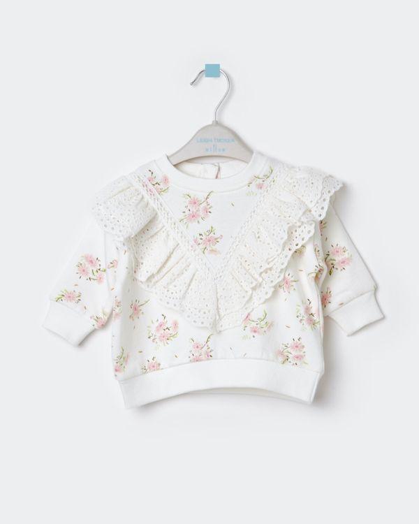 Leigh Tucker Willow Soliel Baby Girl Sweatshirt