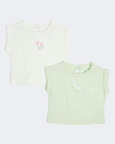 Leigh Tucker Willow Slater Baby T-Shirts - Pack Of 2 (0 months - 3 years)