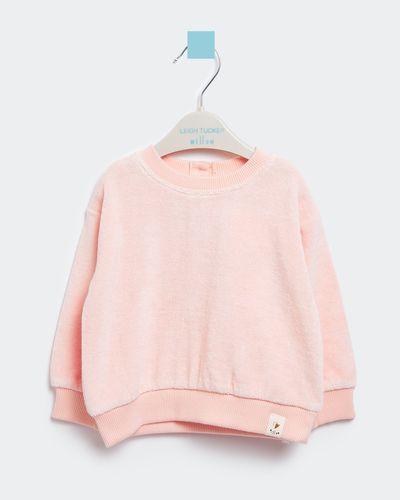 Leigh Tucker Willow Lowe Baby Girl Towelling Sweatshirt (0 months - 3 years)