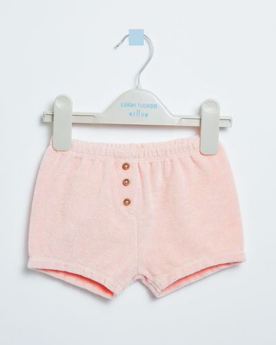 Leigh Tucker Willow Lowe Towelling Baby Girl Shorts (0 months - 3 years)