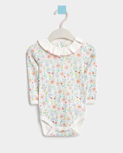 Leigh Tucker Willow Becky Long-Sleeved Cotton Vest (Newborn - 23 months) thumbnail