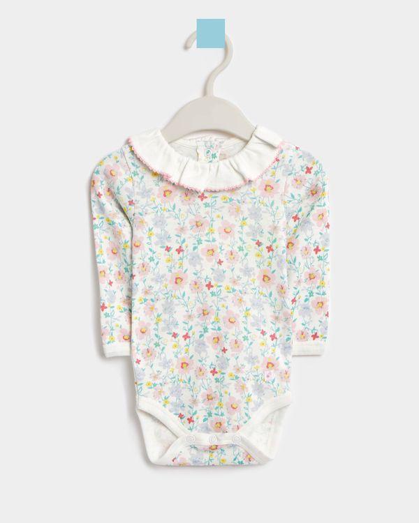 Leigh Tucker Willow Becky Long-Sleeved Cotton Vest (Newborn - 23 months)