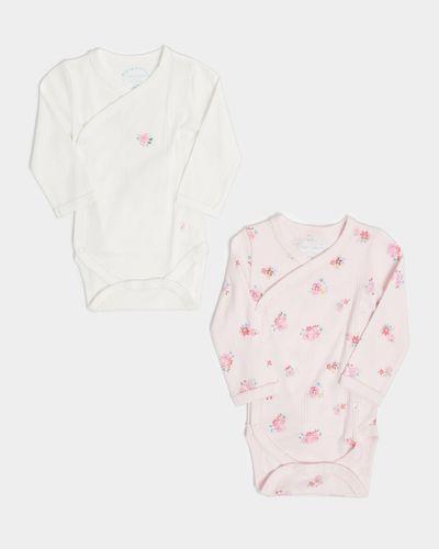 Leigh Tucker Willow Bianca Cotton Vest - Pack Of 2 (Newborn - 23 months)