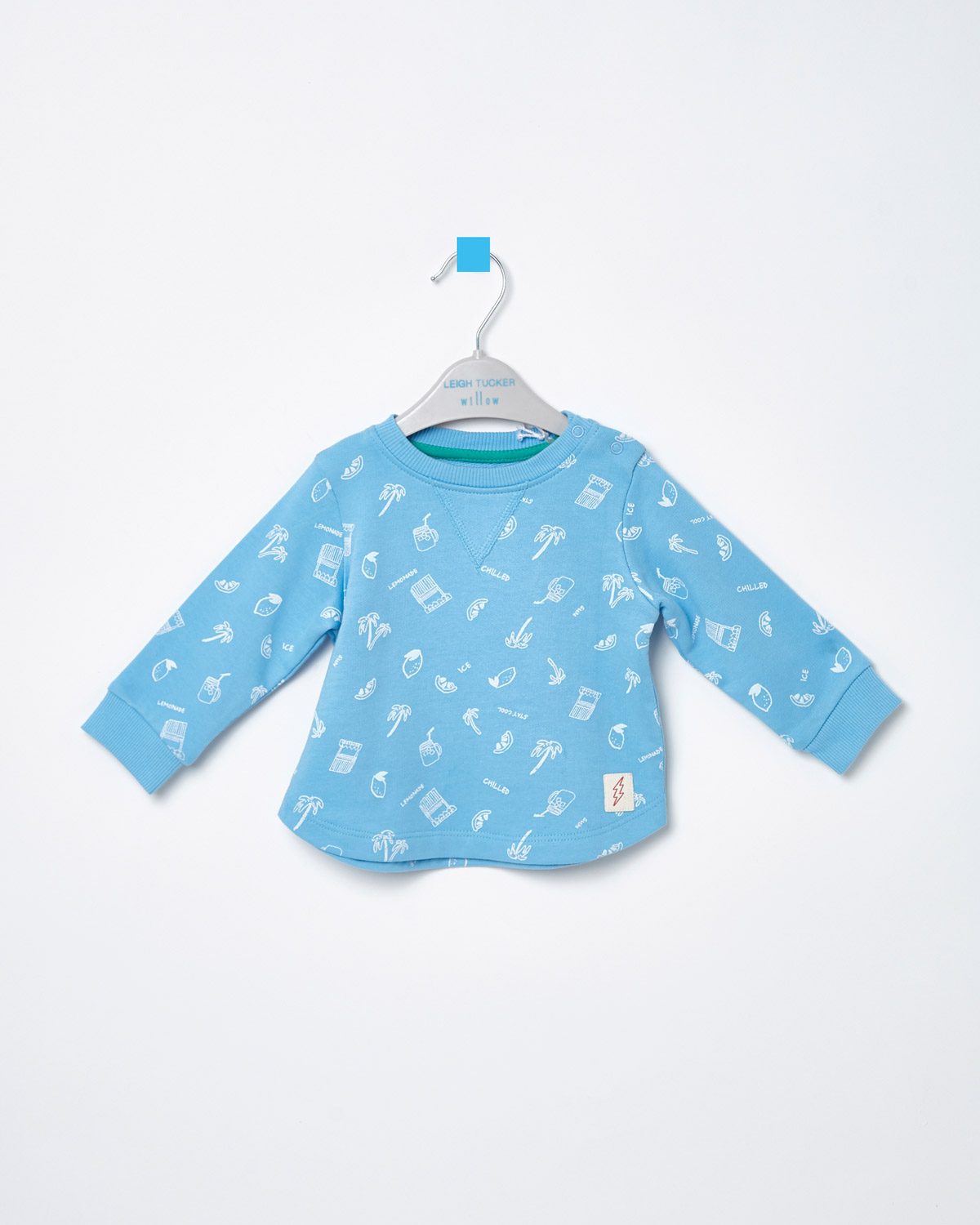 8652d94fb Leigh Tucker Willow Baby Leo Crew-Neck