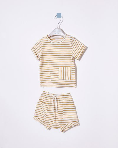 Leigh Tucker Moor Tee And Short 2Pc Set