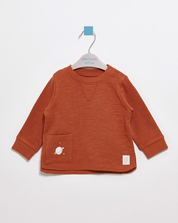 Leigh Tucker Willow Ted Baby Crew Neck
