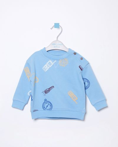 Leigh Tucker Willow Joel Baby Crew-Neck Sweatshirt