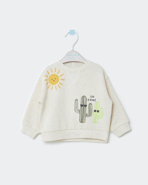 Leigh Tucker Willow Lamar Baby Sweatshirt