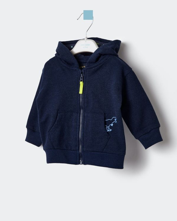 Leigh Tucker Willow Spike Baby Hoodie