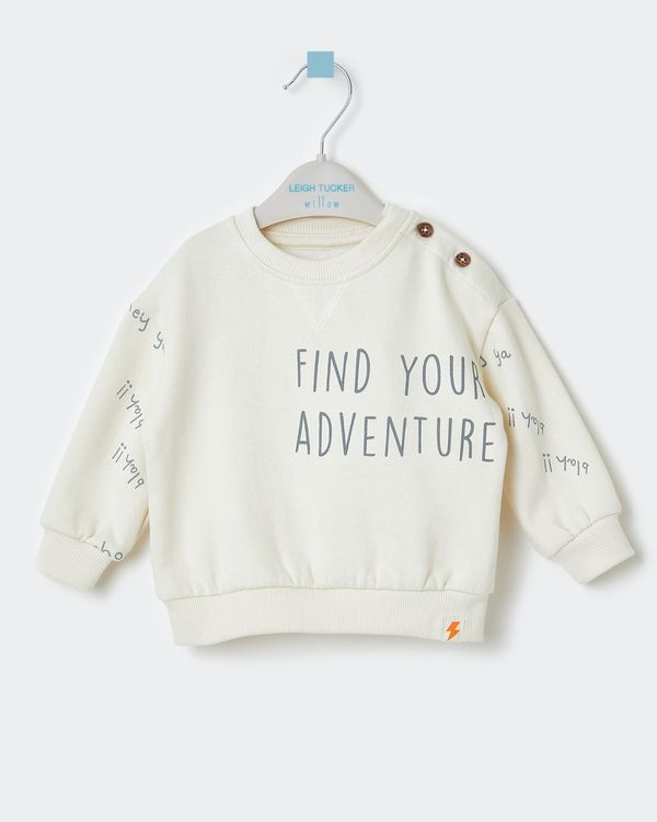 Leigh Tucker Willow Sammy Baby Sweatshirt