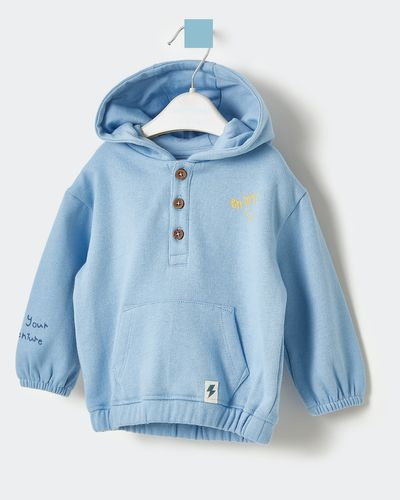Leigh Tucker Willow Gab Baby Hoodie