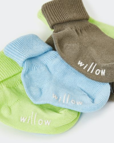 Leigh Tucker Willow Eric Baby Sock - Pack Of 3 thumbnail