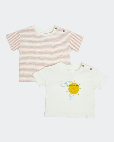 Leigh Tucker Willow Gage Baby T-Shirts - Pack Of 2 (0 months - 3 years)