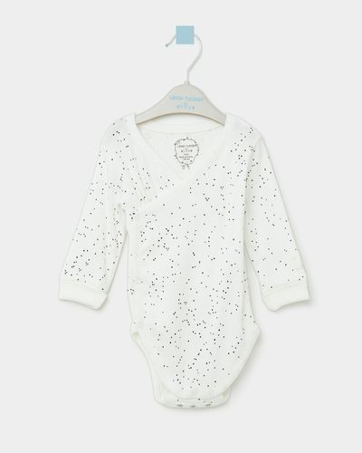 Leigh Tucker Willow Leo Long-Sleeved Bodysuit