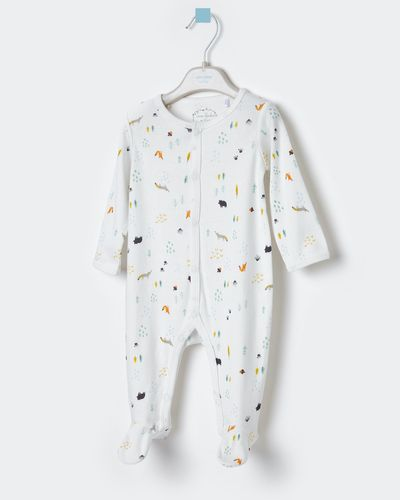 Leigh Tucker Willow Hayden Rib Jersey Sleepsuit