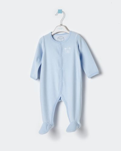 Leigh Tucker Willow Henry Velour Sleepsuit