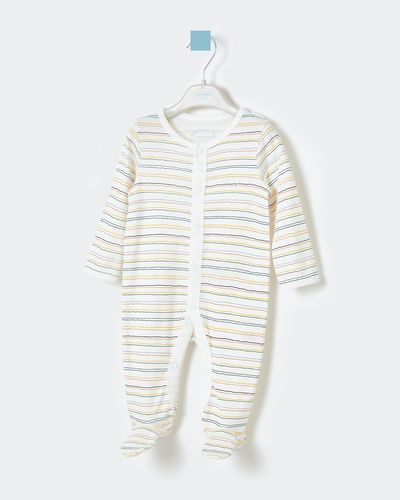 Leigh Tucker Willow Kane Rib Sleepsuit