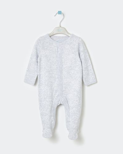 Leigh Tucker Willow King Rib Sleepsuit thumbnail