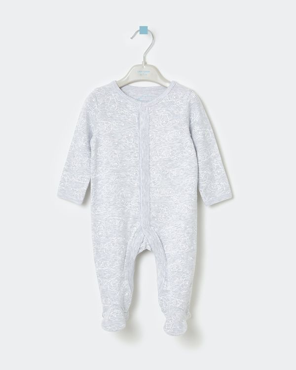 Leigh Tucker Willow King Rib Sleepsuit