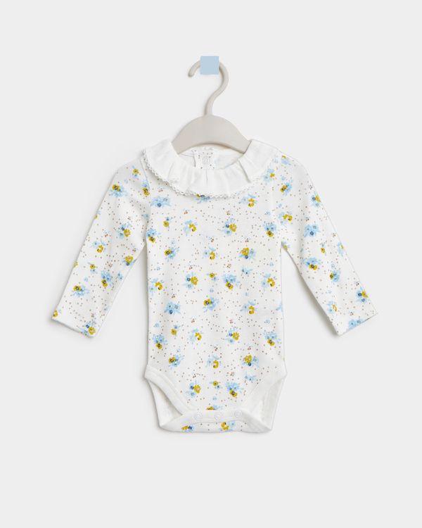 Leigh Tucker Willow Sophia Long-Sleeved Bodysuit (Newborn - 23 months)